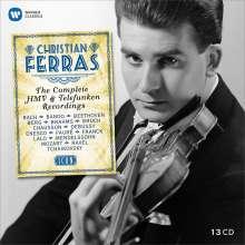 Christian Ferras - The Complete HMV & Telefunken-Recordings, 13 CDs