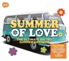 Summer Of Love: The Ultimative Sixties Summer Anthems, 2 CDs