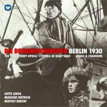 Kurt Weill (1900-1950): Die Dreigroschenoper (Kurzfassung), CD