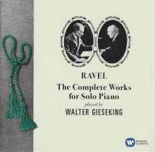 Maurice Ravel (1875-1937): Klavierwerke (Gesamt-Aufnahme), 2 CDs