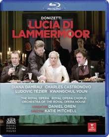 Gaetano Donizetti (1797-1848): Lucia di Lammermoor, Blu-ray Disc