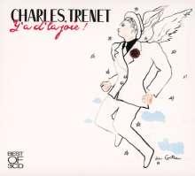 Charles Trenet (1913-2001): Y'a D'La Joie: The Best Of Charles Trenet (72 Chansons Éternelles), 3 CDs