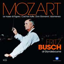 Fritz Busch at Glyndebourne - Mozart, 9 CDs