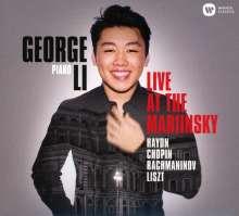 George Li - Live at the Mariinsky, CD