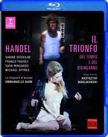 Georg Friedrich Händel (1685-1759): Il Trionfo del Tempo e del Disinganno, Blu-ray Disc