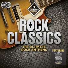 Rock Classics: The Ultimate Rock Anthems, 4 CDs