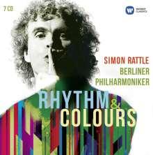 Simon Rattle - Rhythm & Colours, 7 CDs