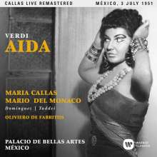 Giuseppe Verdi (1813-1901): Aida (Remastered Live Recording Mexico 03.07.1951), 2 CDs