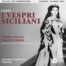 Giuseppe Verdi (1813-1901): I Vespri Siciliani (Remastered Live Recording 26.05.1951), 2 CDs