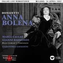 Gaetano Donizetti (1797-1848): Anna Bolena (Remastered Live Recording Mailand 14.04.1957), 2 CDs