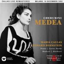 Luigi Cherubini (1760-1842): Medea (Remastered Live Recording Mailand 10.12.1953), 2 CDs