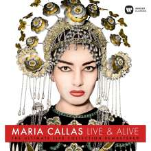 Maria Callas - Live & Alive (Remastered Live Recordings) (180g), LP