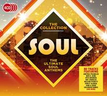 Soul: The Collection / Various, 4 CDs