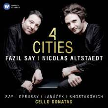 Nicolas Altstaedt & Fazil Say - 4 Cities, CD