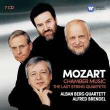 Wolfgang Amadeus Mozart (1756-1791): Streichquartette Nr.14-23, 7 CDs