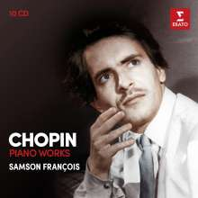 Frederic Chopin (1810-1849): Samson Francois spielt Chopin, 10 CDs