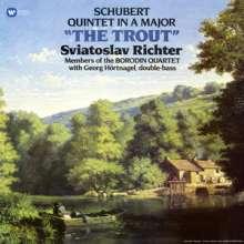 """Franz Schubert (1797-1828): Klavierquintett D.667 """"Forellenquintett"""" (180g), LP"""
