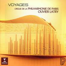 Olivier Latry - Voyages, CD