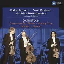 Alfred Schnittke (1934-1998): Konzert für Streichtrio & Orchester, CD