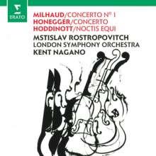 Arthur Honegger (1892-1955): Cellokonzert C-Dur, CD