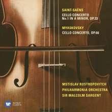 Nikolai Miaskowsky (1881-1950): Cellokonzert op.66, CD