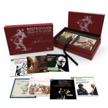 Mstislav Rostropovich - Cellist of the Century, 43 CDs