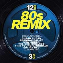 """12"""" Dance: 80s Remix, 3 CDs"""