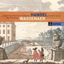 Giovanni Battista Pergolesi (1710-1736): Concerti armonici Nr.1-6 (tats.v.Wassenaer), 2 CDs