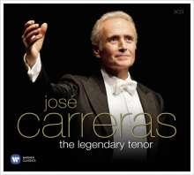 Jose Carreras - The Legendary Tenor, 3 CDs