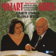 Edvard Grieg (1843-1907): Klaviermusik von Wolfgang Amadeus Mozart, CD