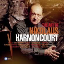 Nikolaus Harnoncourt - The Art of, 15 CDs