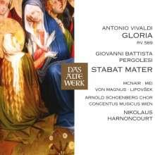 Antonio Vivaldi (1678-1741): Gloria RV 589, CD