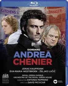 Umberto Giordano (1867-1948): Andrea Chenier, Blu-ray Disc