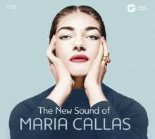 Maria Callas - The New Sound of Maria Callas (Callas remastered), 3 CDs