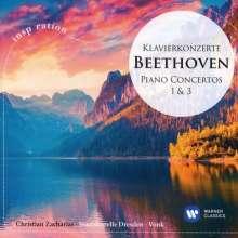 Ludwig van Beethoven (1770-1827): Klavierkonzerte Nr.1 & 3, CD