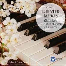 """Antonio Vivaldi (1678-1741): Concerti op.8 Nr.1-4 """"4 Jahreszeiten"""" (Version für 2 Klaviere), CD"""
