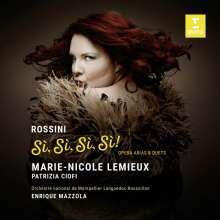 Marie-Nicole Lemieux - Rossini Si, Si, Si, Si!, CD