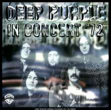 """Deep Purple: In Concert '72 (180g), 2 LPs und 1 Single 7"""""""