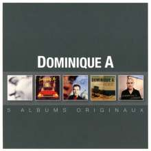 Dominique A: Original Album Series, 5 CDs