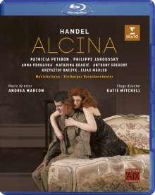 Georg Friedrich Händel (1685-1759): Alcina, Blu-ray Disc
