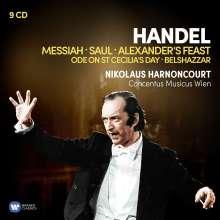 Nikolaus Harnoncourt - Händel, 9 CDs