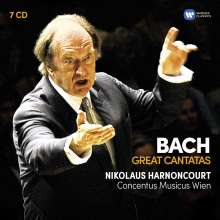 Nikolaus Harnoncourt - Bach (Great Cantatas), 7 CDs