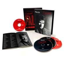 Falco: Emotional (2021 Remaster), 3 CDs und 1 DVD