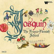 Josquin and the Franco-Flemish School, 34 CDs