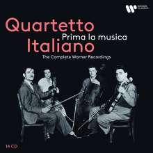 """Quartetto Italiano - The Complete Warner Recordings """"Prima la musica"""", 14 CDs"""