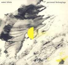 Omer Klein (geb. 1982): Personal Belongings (180g), LP