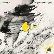 Omer Klein (geb. 1982): Personal Belongings, CD