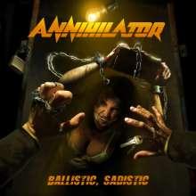 Annihilator: Ballistic, Sadistic (Translucent Amber Vinyl), LP