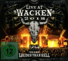 Live At Wacken 2018: 29 Years Louder Than Hell, 4 CDs