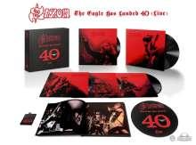 Saxon: The Eagle Has Landed 40 (Live) (Box-Set) (180g), 5 LPs